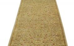 Extra Long Hallway Runners Tabriz Revival Rug, 3'x21' Extra Long Runner 300 Kpsi Hand Knotted