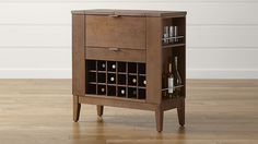 Parker Spirits Bourbon Cabinet - Crate and Barrel Furniture Deals, Bar Furniture, Quality Furniture, Custom Furniture, Furniture Making, Furniture Design, Bedroom Furniture, Crate And Barrel, Barrel Bar