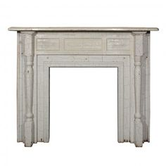 Marvelous Antique Fireplace Mantel, Early 1900s