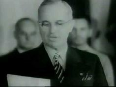 President Truman reads the Japanese Surrender 1945 - YouTube