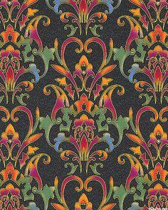 Jinny Beyer Rajasthan Cotton Quilt Fabric 2012 BTY Stripe Pattern RJR Fabrics