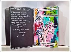 Jorunns fristed: Mandags Art Journaling