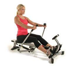This Stamina Body Trac Glider 1050 rowing machine is a good quality entry-level rower that has a realistic rowing action, and can be folded away for storage when not being used.