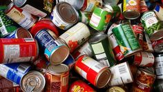 pay parking tickets canned goods