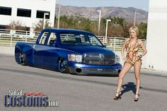 Model : Jenny P  Truck : 2008 Dodge Ram 1500 Quad Cab