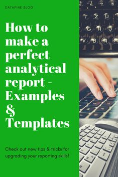 An analytical report has becomea a must-have business tool. Make sure to know how to write an analytical report and see our selected examples! What Is Data Science, Data Analysis Tools, Data Analytics, Google Analytics, Report Writing, Software, You Better Work, Blog Topics, Deep Learning