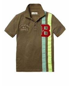 Worked-out polo with badge - Polo's - Official Scotch & Soda Online Fashion & Apparel Shops