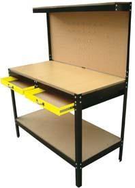 Banco de trabajo Garage Workbench, Workshop Ideas, Drafting Desk, Welding, Gadgets, Industrial, Tools, Storage, Diy