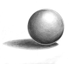 Shaded Orb Thing by on DeviantArt Pencil Art Drawings, Art Drawings Sketches, Easy Drawings, Shading Drawing, Basic Drawing, Pencil Shading Techniques, Drawing Techniques, Beginner Sketches, Still Life Drawing