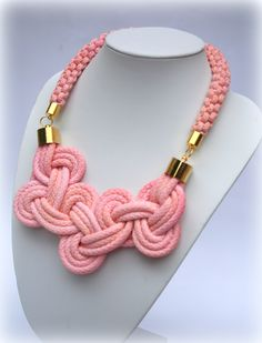 knot rope necklace https://www.facebook.com/Folenta?ref=hl