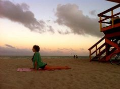 Yoga classes in Miami Beach