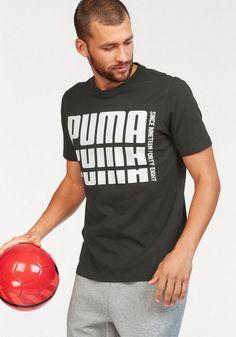 0952c182be8f PUMA T-Shirt »REBEL BOLD BASIC TE«