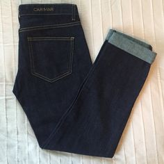 CARMAR denim Tag is off but have never been worn- guarantee!! Perfect pair of denim jeans any closet can have. CARMAR Jeans