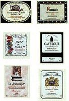 Our miniatures - Printables: Wine Labels