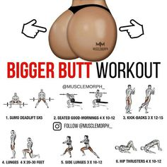 buttock training in the gym