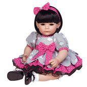 Adora Dolls ToddlerTime Little Dreamer - Petalina Baby Dolls For Toddlers, Real Baby Dolls, Toddler Dolls, Toddler Girl, Reborn Dolls, Blythe Dolls, Barbie Dolls, Dora Doll, Brown Eyes Black Hair