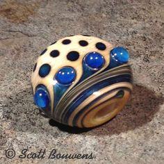 Sea and Sky Lampwork, Scott Bouwens Clay Beads, Lampwork Beads, Beads Pictures, Clay Design, Handmade Beads, Bead Art, Beaded Jewelry, Glass Art, Helmet
