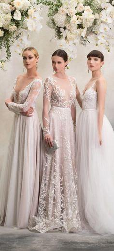 vestidos de noiva modernos anna georgina 2018