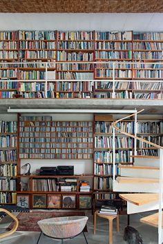 O poder decorativo dos livros                                                                                                                                                                                 Mais