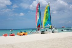 Kayaking, paddle boating, sailing, and more! Come experience the all natural Jamaican beauty at Couples Swept Away <3 http://couples.com/swept-away/