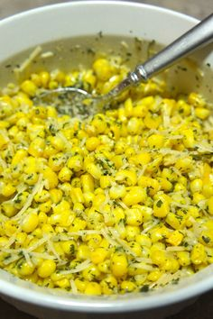 Parmesan Ranch Corn: Savory Sweet and Satisfying