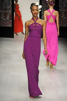Issa London RTW Spring 2013    If/when I get married this is my hair style!!! Great dress too!