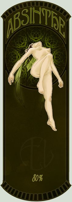 Absinthe Label 2 by Enodia.deviantart.com