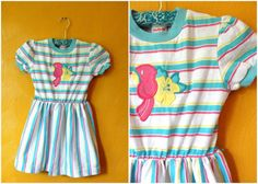 Summer meant little cotton dresses that looked like this. | 23 Things You Used To Wear As A Kid