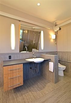 31 best accessible bathroom counters cabinets images bathroom rh pinterest com