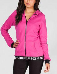 525506606c08b FOX Fast Lane Womens Hoodie Fox Racing Clothing