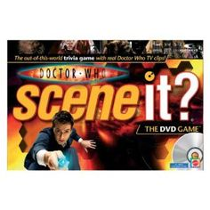 Mattel Doctor Who Scene It? Dvd Game - so need this
