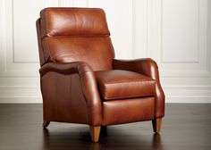 Aiden Leather Recliner - Ethan Allen