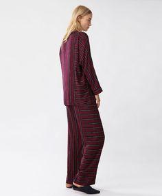 Classic striped trousers - New In - PYJAMAS | Oysho
