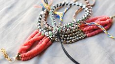 7 DIY Braided Bracelets & Necklaces With Beads, Ribbons, and Fabric