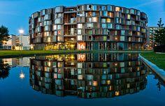 Technically a dorm, but how cool is this?  Tietgenkollegiet