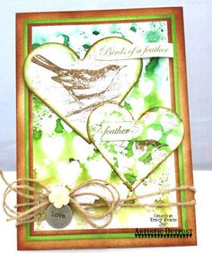Artistic Outpost Stamp sets: Birds Of A Feather, Ephemera Backgrounds