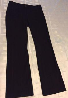 NOT YOUR DAUGHTERS JEANS NYDJ Women Career Lift Tuck Black Trousers Pants Sz 6 P #NYDJNotYourDaughtersJeans #StraightLeg