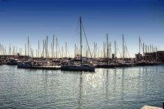 Veleros anclados en el puerto del Grao de Castellón http://www.turismocomunidadvalenciana.info/castellon/