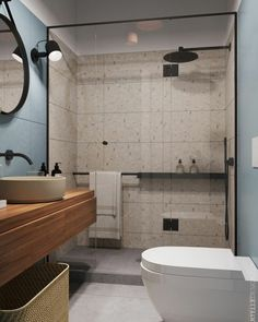 Wooden Home Decor 31 Nice Contemporary Bathrooms Design You Never Seen Before - A look at features of a contemporary bathroom and considerations for choosing one. Many home owners are remodelling their homes to have contemporary b.