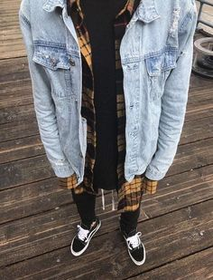 Thing Your Streetwear Fashion Menswear Doesn't Tell You - Sinergy Ideas Flannel Outfits, Cool Outfits, Casual Outfits, Men Casual, Fashion Outfits, Flannel Style, Denim Style, Urban Outfits, Fashion Clothes