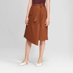 757e46222fbe9 Women s Asymmetrical Wrap Skirt - Prologue™ Brown