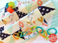 Janome Monday: Sparkly Baby Quilt   Sew4Home