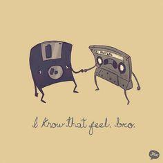 I know that feeling bro =( #cassette #floppy #disc #90s #throwback #meme