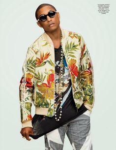 Pharrell Williams para GQ Style Alemania