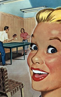 Hey! Ping-pong!