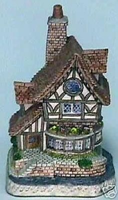 David winter cottages 1991 audrey 39 s tea room signed by for Castle and cottage home collection