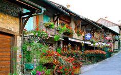 Yvoire, Francia.
