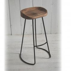 Bar stools. I would love to have lots of different styles, each the same height, color, or material