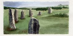 #worldwatercolormonth July 12 The Hurlers Karen Smith