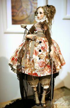 Cosy Hut Dwellers : Искусство, воплощенное в куклах